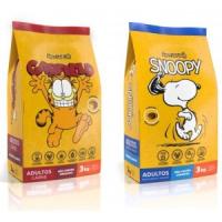 Snoopy e Garfield dão cara a ração Special Dog