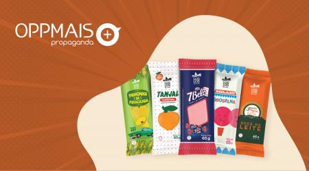 Empresa transforma marcas famosas de doces e sucos em picolés