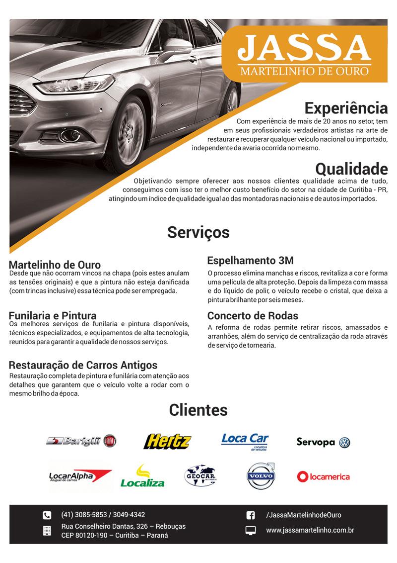 folder A4 Jassa Martelinho